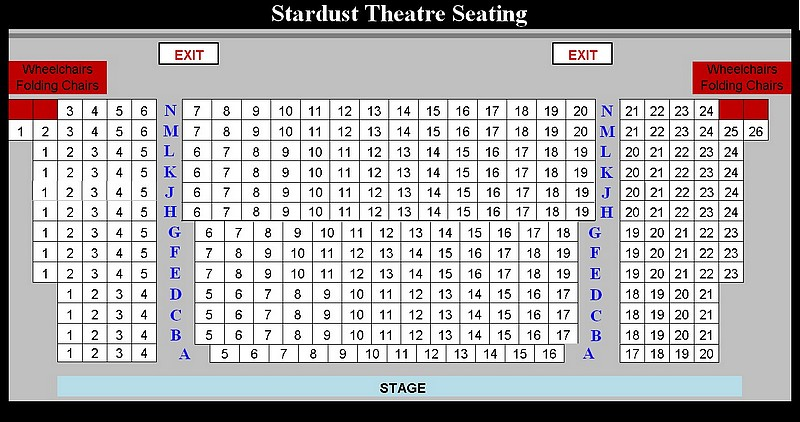 StardustSeatingChart
